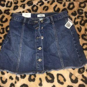 Forever 21 little denim skirt, NEVER WORN